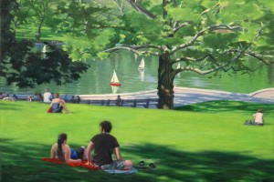 Central Park, Conservatory Water, Model Boats