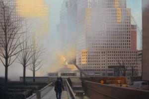 NYC,Financial District,World Financial Center,Ground Zero,Steam