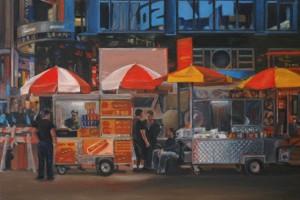 Times Sq,Times Square,NYC, New York,street vendors