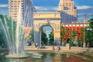 Washington Square Park, NYC, New ork