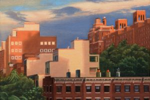 Chelsea Rooftops at Sunset, from the Highline