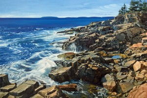 Cliffs and Crashing Waves