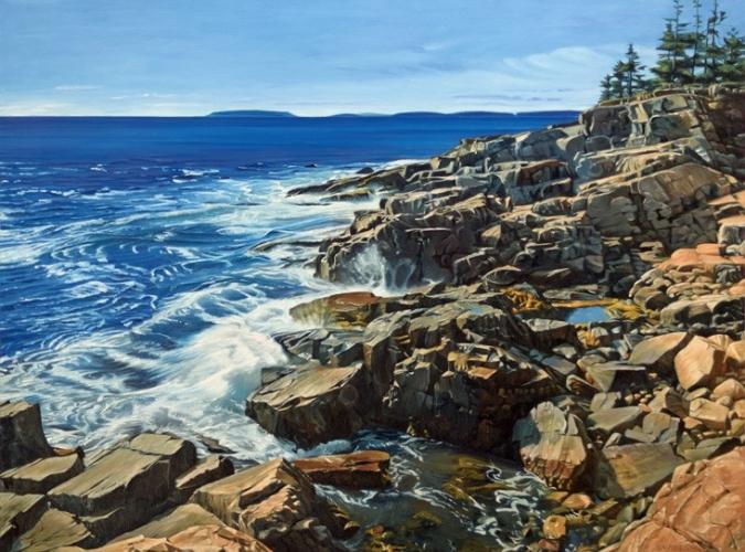 Coastal Scenes, including Martha's Vineyard and Maine