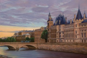 The Conciergerie at Sunset