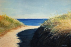 Beach Path, dunes, Martha's Vineyard