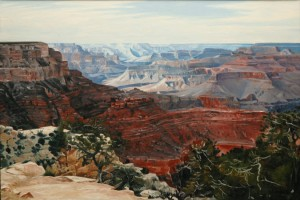 Grand Canyon in Midday Sun