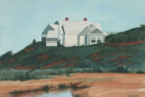 House on the Cliffs, Menemsha, Martha's Vineyard