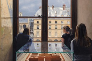 Inside the Louvre, Looking Out