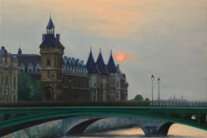 Paris Sunset and the Conciergerie
