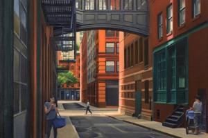Staple Street - Looking South