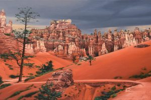 Storm in Bryce Canyon by Nick Savides
