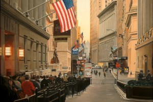 Wall Street, Early Morning