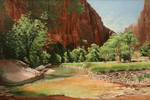 Zion – Along the North Fork Virgin River